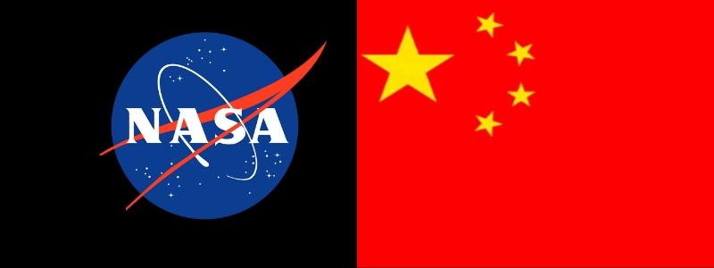NASA and China Moon mission