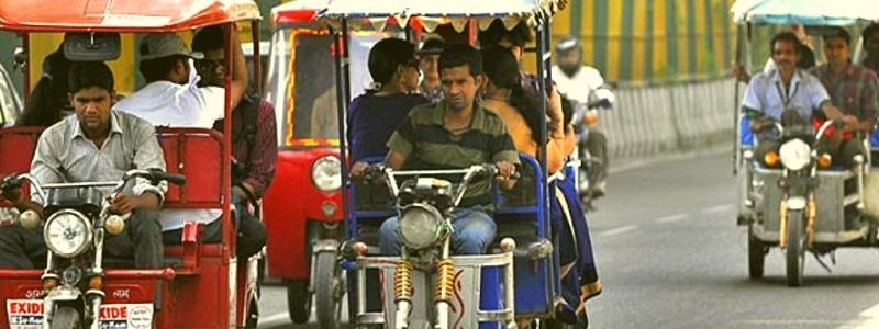 Battery rikshaw Delhi